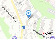 Компания «Владимирское землеустроительное проектно-изыскательное предприятие» на карте