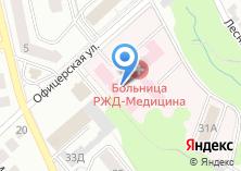 Компания «Отделенческая больница на ст. Муром» на карте