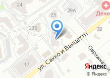 Компания «ТехПроектПеревооружение» на карте
