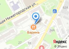 Компания «На Большой Нижегородской» на карте