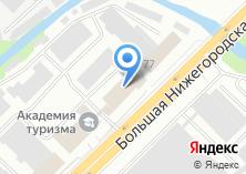 Компания «Автоматика» на карте