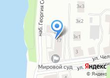 Компания «Отдел судебных приставов по Приморскому району г. Архангельска» на карте