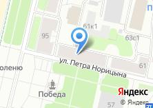 Компания «Цветочная на Набережной» на карте