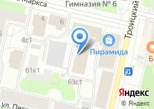 Компания «Бизнес-Медиа» на карте