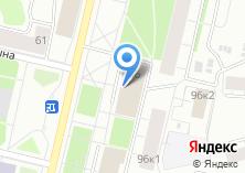 Компания «УФСИН России по Архангельской области» на карте