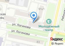 Компания «АКБ МосОблБанк» на карте