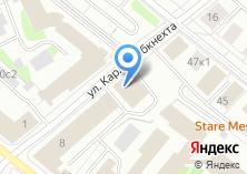 Компания «Технологии дорог» на карте