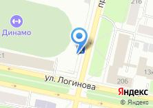 Компания «Магазин фруктов и овощей на ул. Логинова» на карте