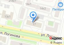 Компания «Мастер Град» на карте