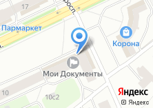 Компания «Корина» на карте