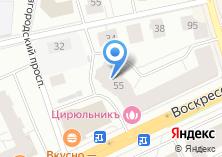 Компания «Строящийся жилой дом по ул. Новгородский проспект» на карте