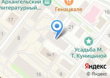 Компания «Он-лайн» на карте