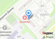 Компания «Аварком-Сервис Архангельск» на карте