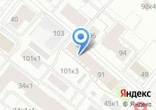Компания «Студия красоты Сергей Истомина» на карте