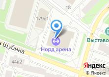 Компания «Норд Арена» на карте
