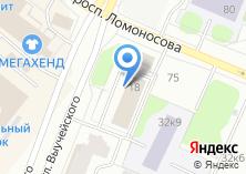 Компания «Министерство агропромышленного комплекса и торговли Архангельской области» на карте