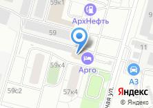 Компания «Технолак-Архангельск» на карте