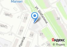 Компания «Строящееся административное здание по ул. Шабалина» на карте