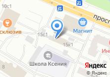 Компания «Тканька» на карте