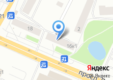 Компания «Цветочная №16» на карте