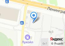 Компания «Шиномонтажная мастерская на Ленинградском проспекте» на карте