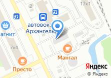 Компания «Строящееся административное здание по ул. Дзержинского проспект» на карте