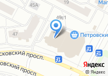 Компания «DejaVu» на карте
