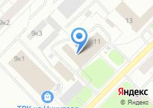Компания «Сигмент» на карте