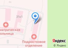 Компания «Архангельская клиническая психиатрическая больница» на карте