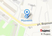 Компания «Северная двина» на карте