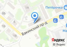 Компания «Парикмахерская на Бакинском проезде» на карте