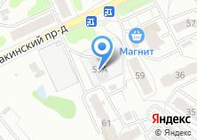 Компания «СК Этажи» на карте
