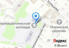 Компания «Ивановский фармацевтический колледж» на карте