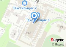 Компания «Космо-текс» на карте