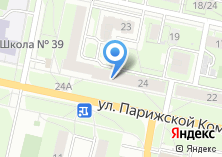 Компания «36.6» на карте