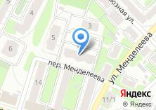 Компания «Менделеева 4» на карте