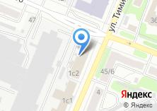 Компания «Профзабор» на карте