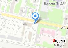 Компания «Автостоянка на ул. Радищева» на карте
