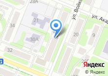 Компания «Магазин хозтоваров на Войкова» на карте