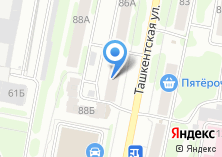 Компания «Юридический кабинет на Ташкентской» на карте