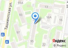 Компания «Парикмахерская №5» на карте