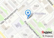 Компания «Атлет-Строй» на карте