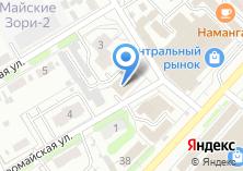 Компания «ЛанаФарм» на карте