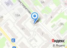 Компания «Строящееся административное здание по ул. Конспиративный пер» на карте