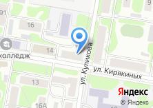 Компания «Магазин кондитерских изделий на Кирякиных» на карте