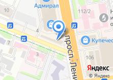 Компания «Штаб» на карте