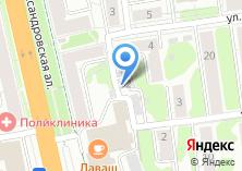 Компания «Место» на карте