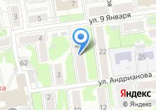 Компания «Сеть магазинов натяжных потолков» на карте