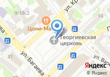 Компания «Храм в честь Георгия Победоносца» на карте