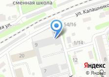 Компания «Ивановский ТИСИз» на карте